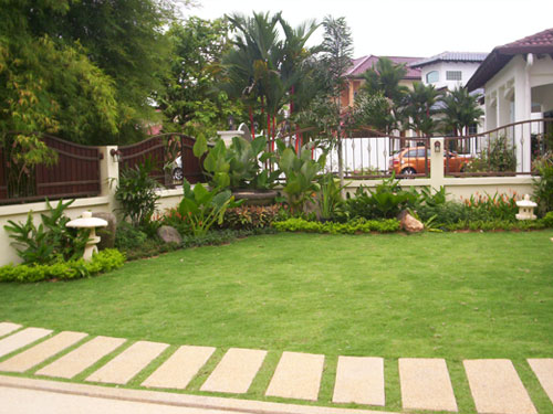 Absolute gardens sdn bhd plant rental landscaping for Backyard design ideas malaysia